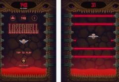 free iPhone app Laser Hell