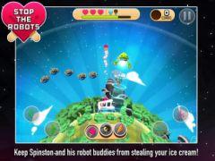 free iPhone app Robots Love Ice Cream
