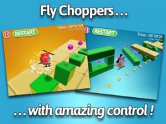 free iPhone app Chopper Mike