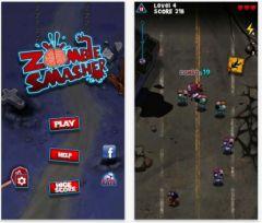free iPhone app Zombie Smasher