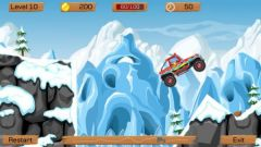 free iPhone app Snow Off Road