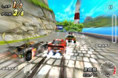 free iPhone app Raging Thunder 2