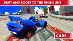 free iPhone app Sonic & All-Stars Racing Transformed