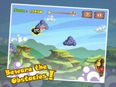 free iPhone app Sky Escape