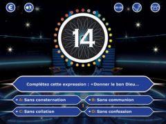 free iPhone app Qui Veut Gagner Des Millions ? 2014