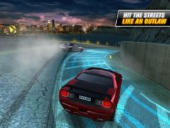 free iPhone app Drift Mania: Street Outlaws