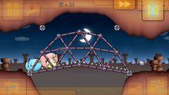 free iPhone app Fat Birds Build a Bridge! HD