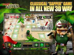 free iPhone app Crazy Sapper