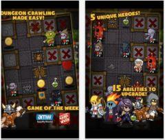 free iPhone app Dungelot