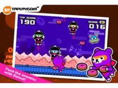 free iPhone app Donut Ninja