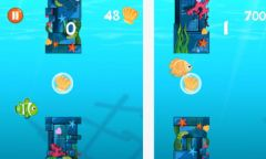 free iPhone app Flappy Fin & Friends