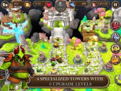 free iPhone app Brave Guardians TD