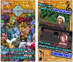 free iPhone app RPG Band of Monsters