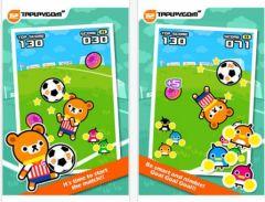 free iPhone app Tap Tap Kick - Tappi Bear