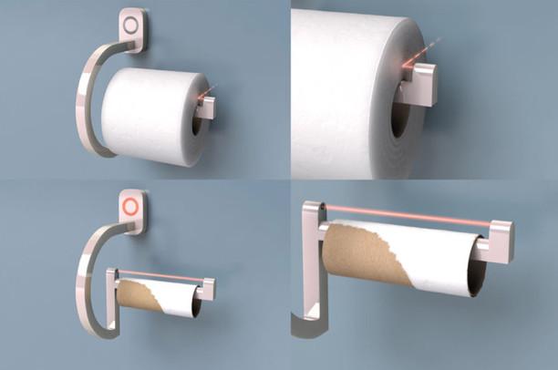plus jamais court de papier toilette avec l 39 iphone et cet accessoire indispensable. Black Bedroom Furniture Sets. Home Design Ideas