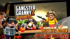 free iPhone app Gangster Granny 2: Madness