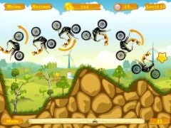 free iPhone app Moto Race