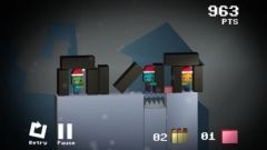 free iPhone app Save the Cubes