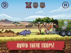 free iPhone app WWF Rhino Raid