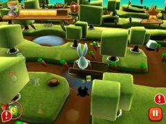 free iPhone app Bunny Maze 3D