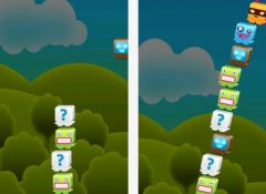 free iPhone app The Impossible Monster Stacking Game
