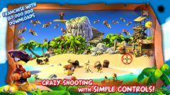 free iPhone app Crazy Chicken Pirates
