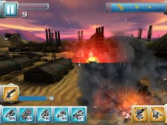 free iPhone app Iron Hero: Collision