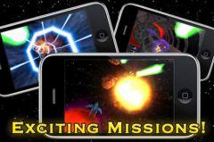 free iPhone app Galactic Gunner