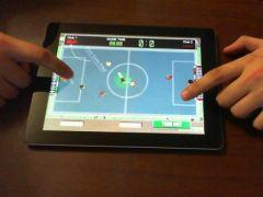 free iPhone app Tiny Soccer