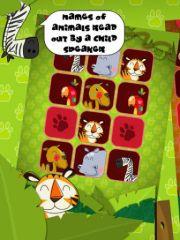 free iPhone app Animals - Memo