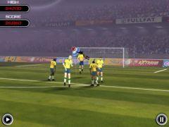 free iPhone app Flick Soccer! HD