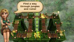 free iPhone app Temple Treasure: Adventure Puzzle