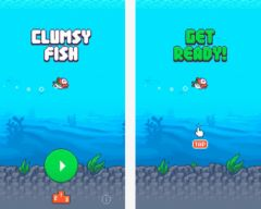 free iPhone app Clumsy Fish