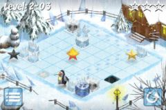 free iPhone app Puzzling Penguins 2