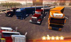 free iPhone app Trucker 3D Real Parking Simulator Game