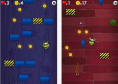 free iPhone app Bouncy Monster