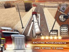 free iPhone app Trucker 3D Real Parking Simulator