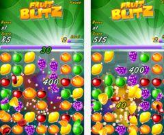 free iPhone app Fruit Blitz