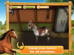 free iPhone app HorseWorld 3D