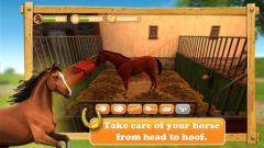free iPhone app HorseWorld 3D