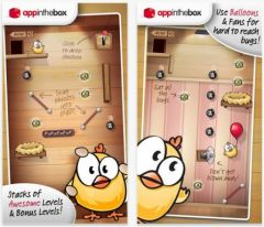 free iPhone app Drop The Chicken