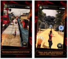 free iPhone app Hunger Games: Catching Fire