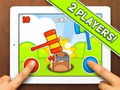 free iPhone app Mole Hammers