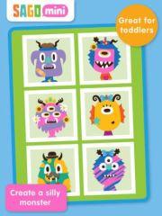 free iPhone app Sago Mini Monsters