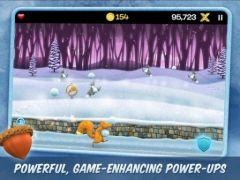 free iPhone app Snow Brawlin