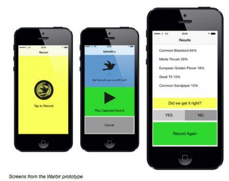 le shazam des oiseaux s 39 appelle warblr envol bient t sur iphone iphone xs xr ipad et. Black Bedroom Furniture Sets. Home Design Ideas