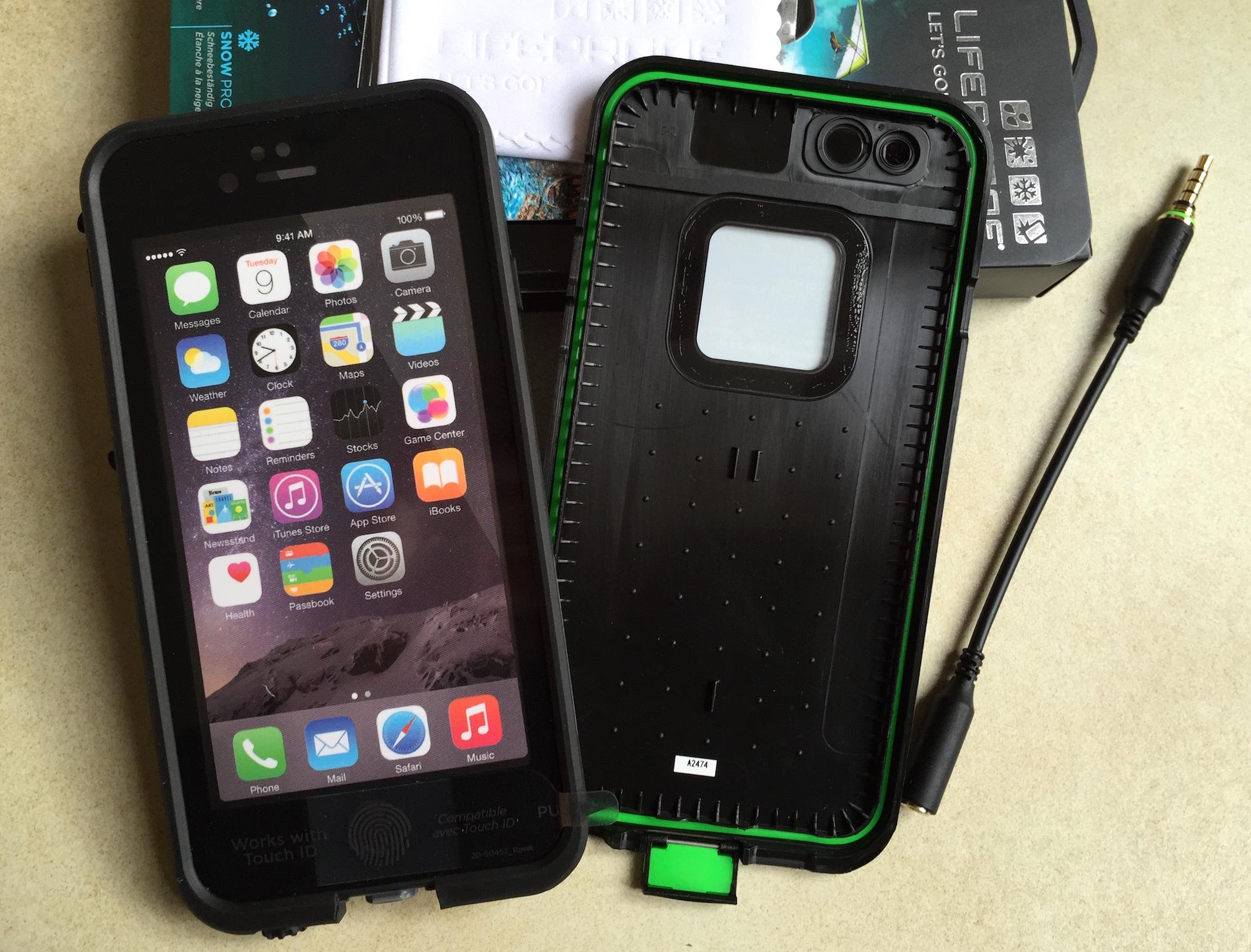 coque iphone 6 aquatique