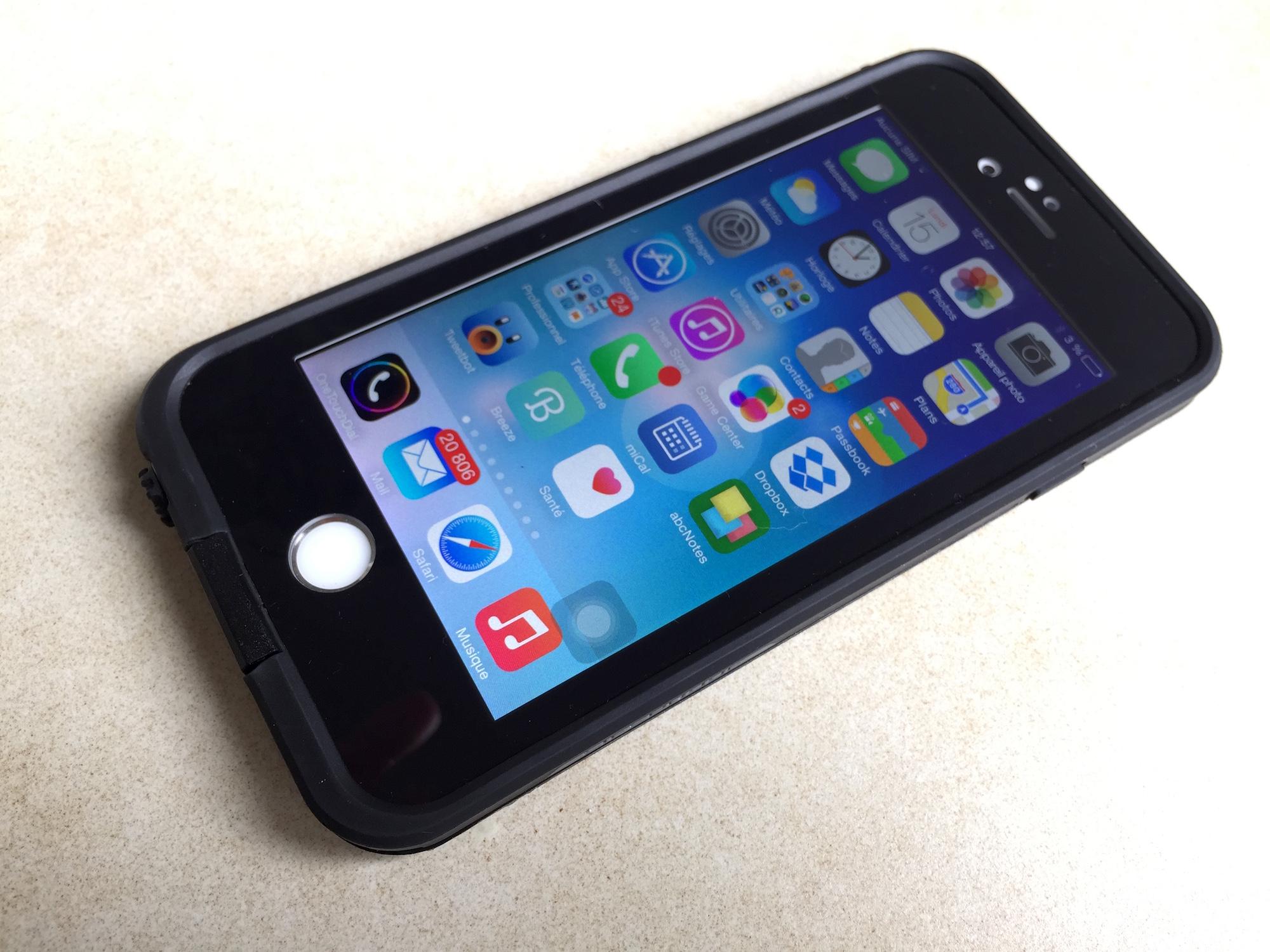 coque sous leau iphone 6