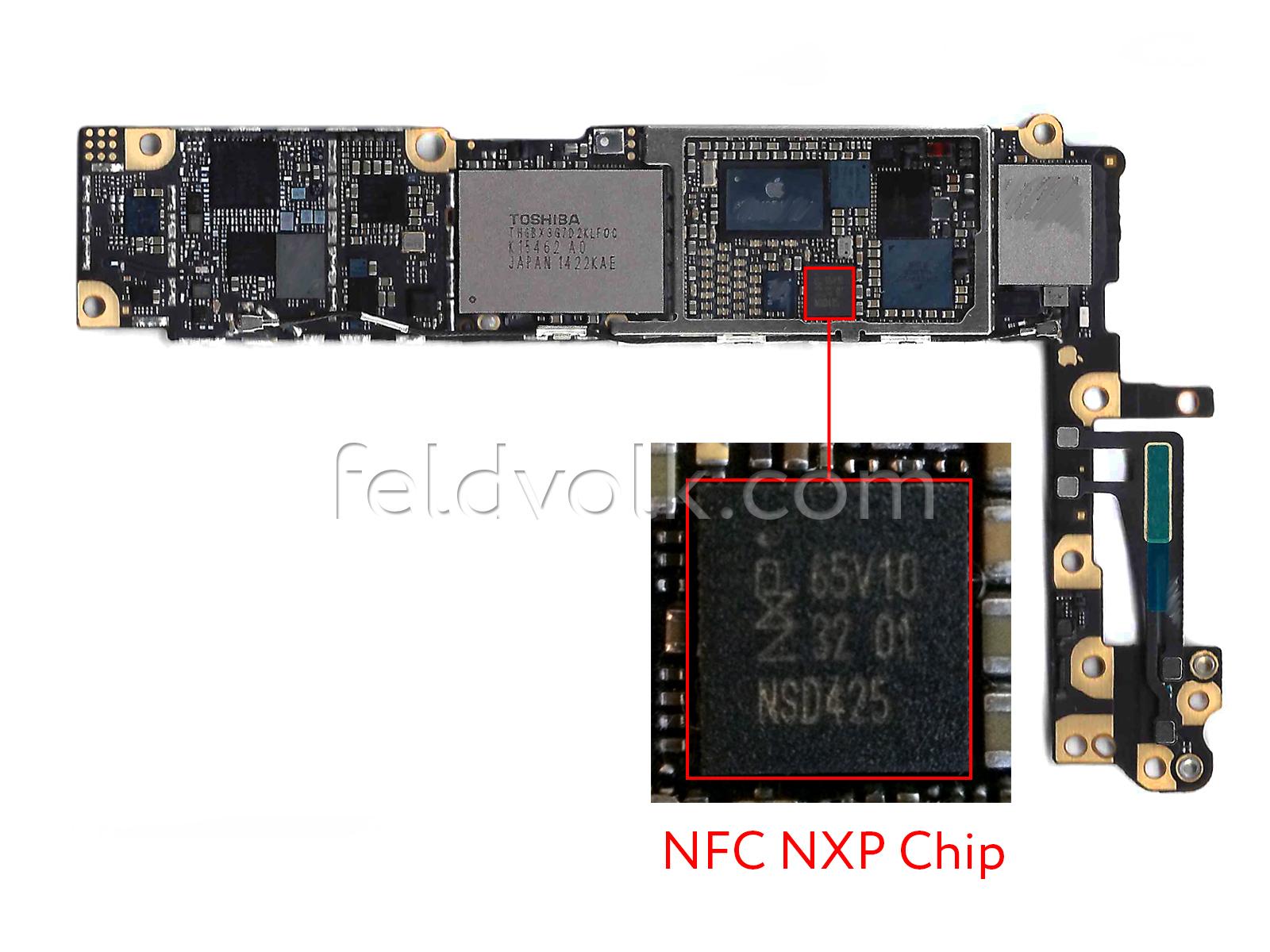 Iphone 6 Nfc Et Processeur A8 Confirmés Par Des Photos De
