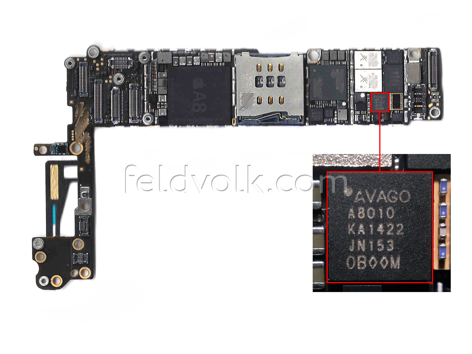 Iphone 4s Motherboard Chip Schematic Wire Data Schema Ad8225 High Resolution Analog Digital Converter Adc Circuit Diagram And Datasheet 6 Nfc Et Processeur A8 Confirm U00e9s Par Des Photos 16gb 5 No Sim Problem